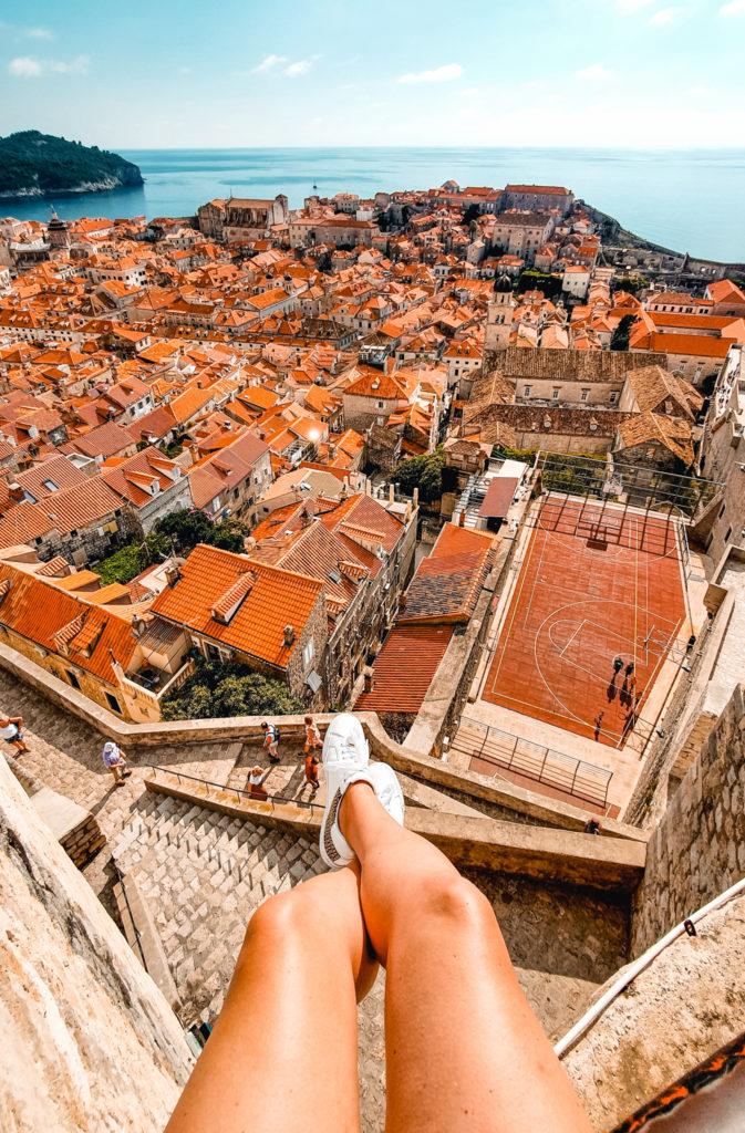 Walls of Dubrovnik view