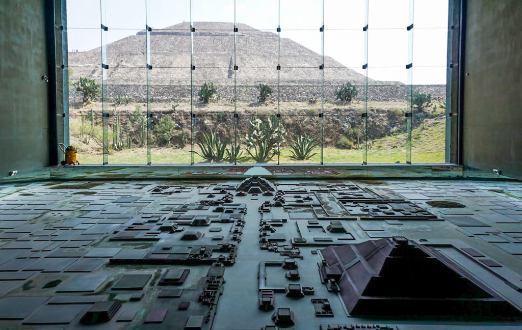 Museum at Zona arqueológica Teotihuacán, Mexico (Museo Teotihuacán)