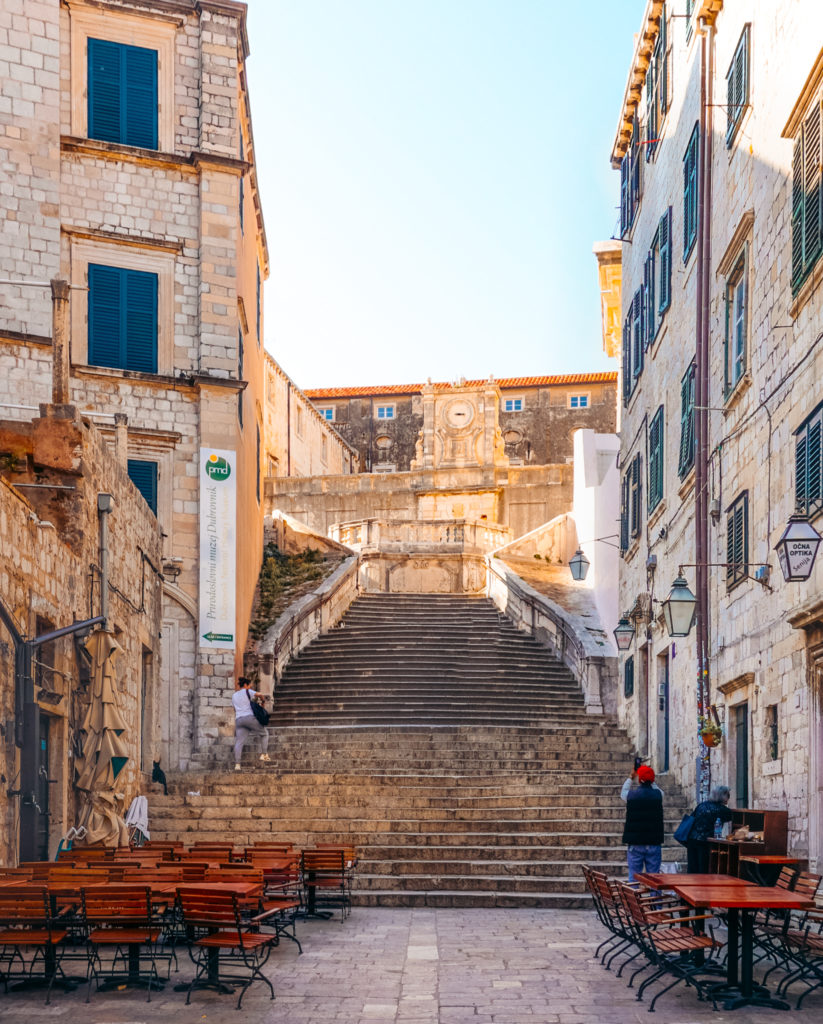 Jesuit Staircase in Dubrovnik from Game of Thrones