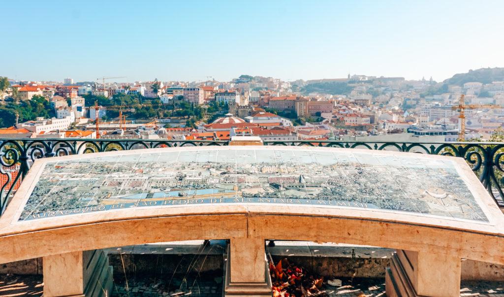 Viewpoints Miradouro de São Pedro de Alcântara Lisbon