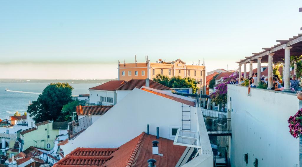 viewpoints  Miradouro de Santa Luzia