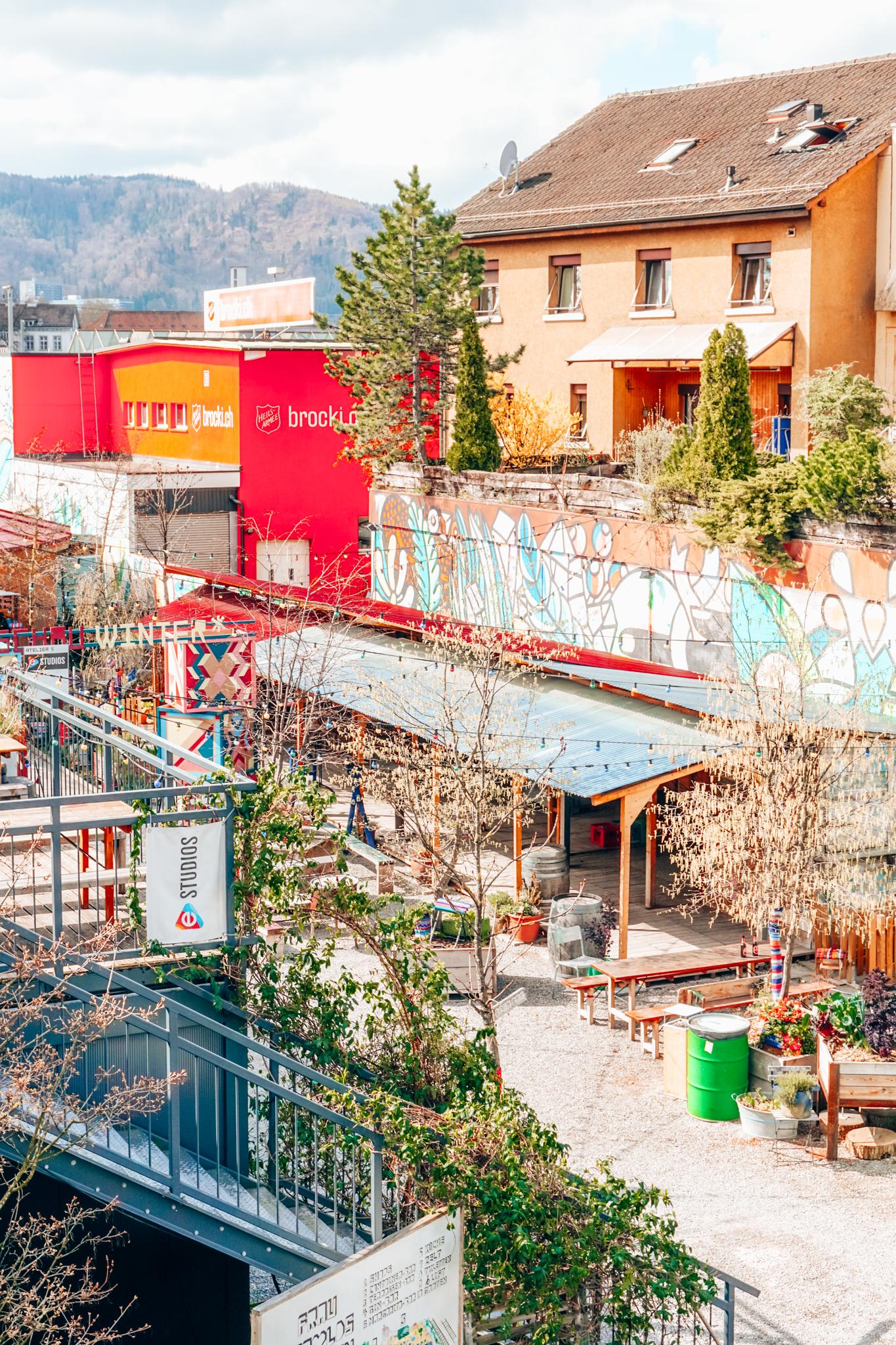 Frau Gerolds Garten Zurich