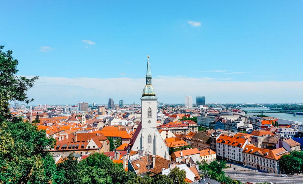 views from Bratislava Castle