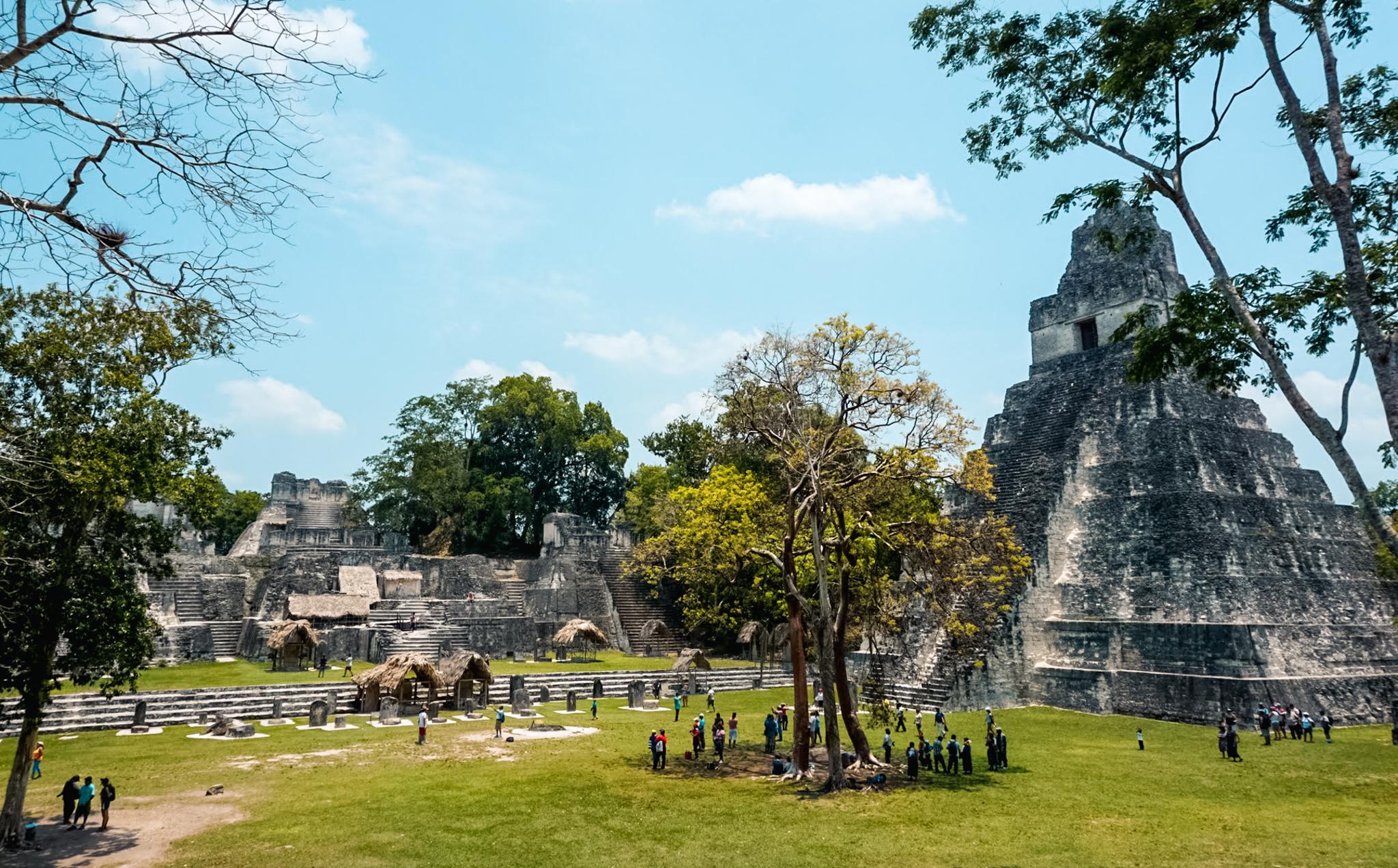 Gran Plaza, Tikal ruins