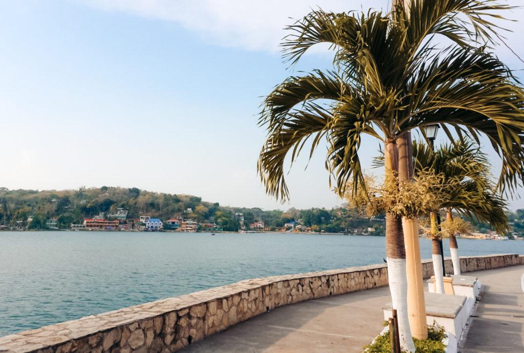 Flores Guatemala lake