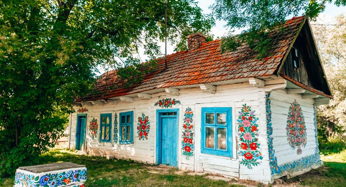 Zalipie house